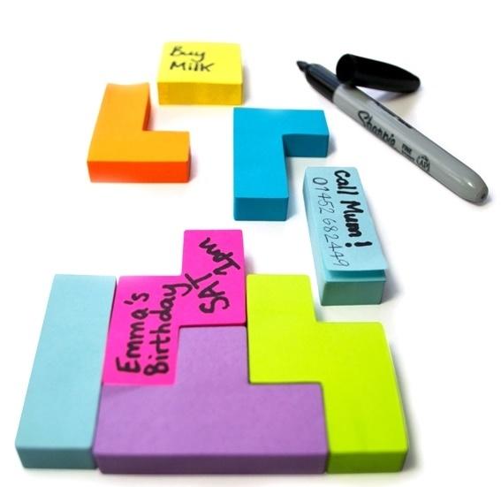 Tetris Block Notes