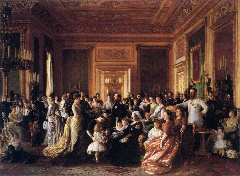 Laurits Tuxen - The Family of Queen Victoria in 1887