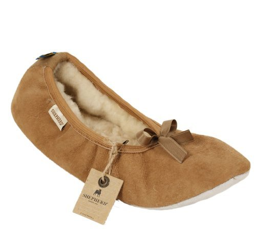 Price compare Shepherd Slippers Luxury Sheepskin Saga Style