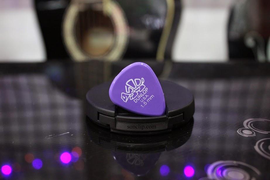 Miếng Gảy - Dunlop Delrin 500 Lavender Picks (1.5 mm)