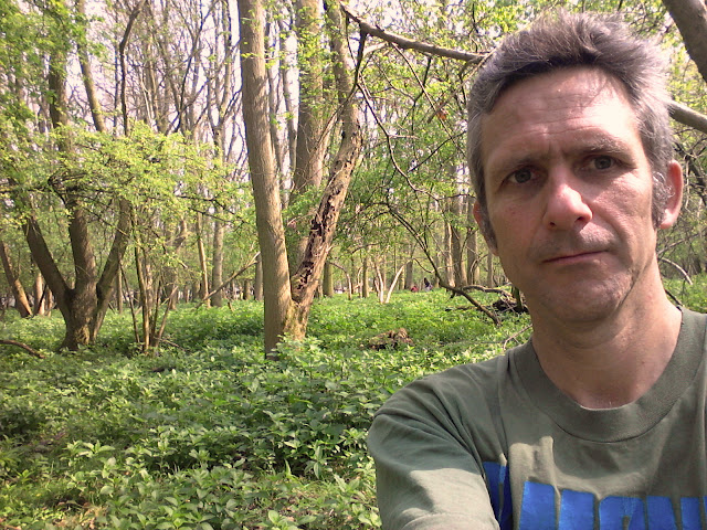 Selfie in Hawkins Wood