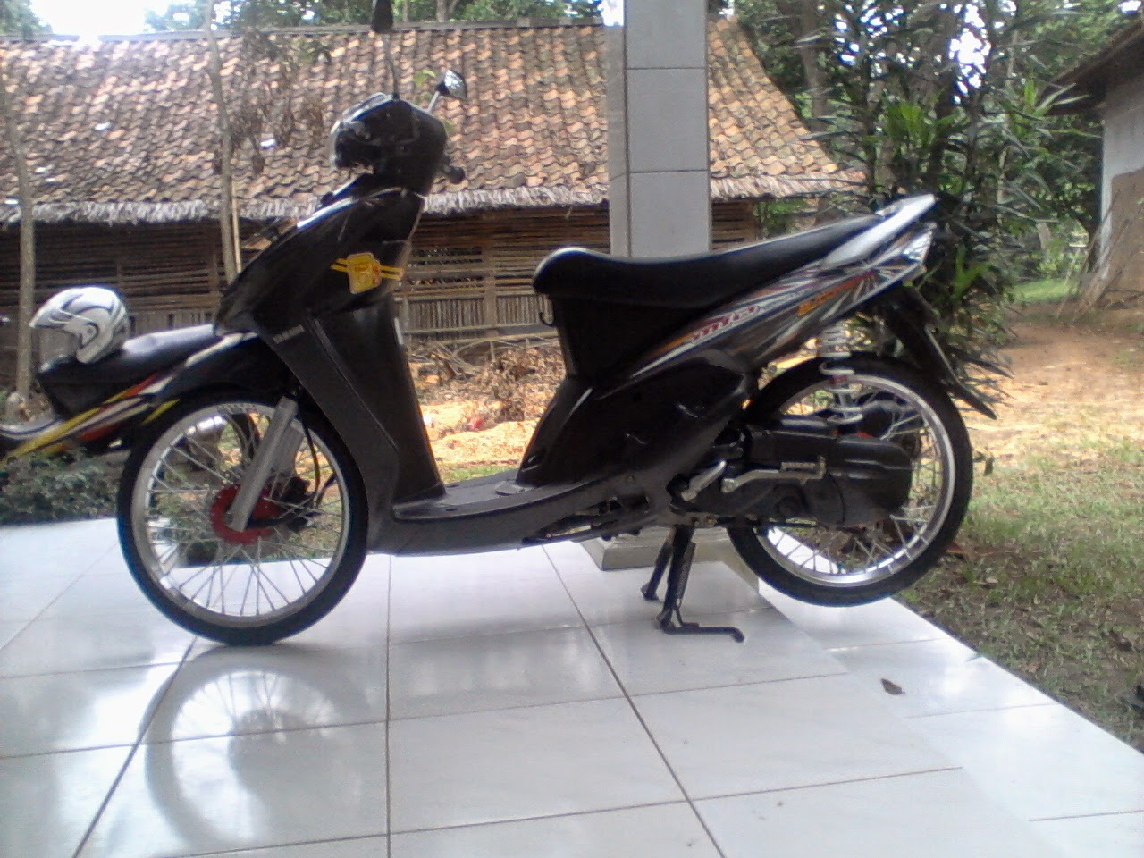 modifikasi motor mio sporty 2009