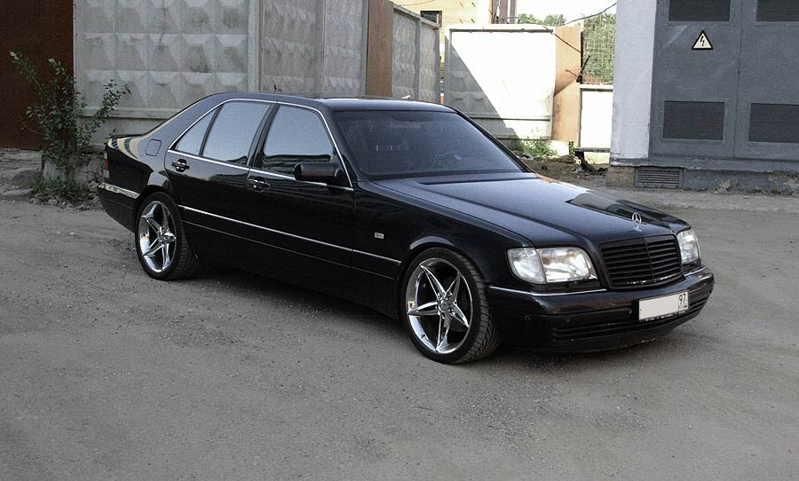 Mercedes-benz w140 s600 w12 - 29259