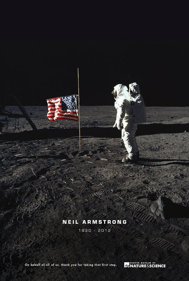 Neil Armstrong. Thanks for all!
