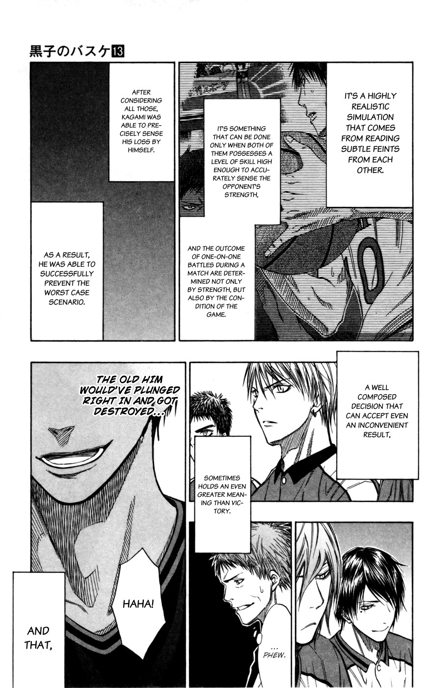 Kuroko no Basket Manga Chapter 117 - Image 3_179
