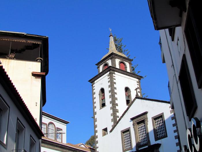 the historic S. Pedro church