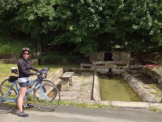 french village diaries cycling deux sevres lavoir Hanc