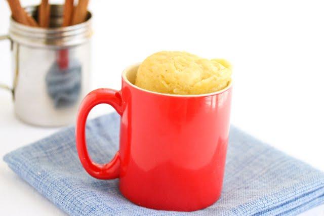 photo of a Banana Mug Cake