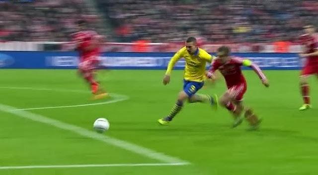 Podolski, Bayern - Arsenal