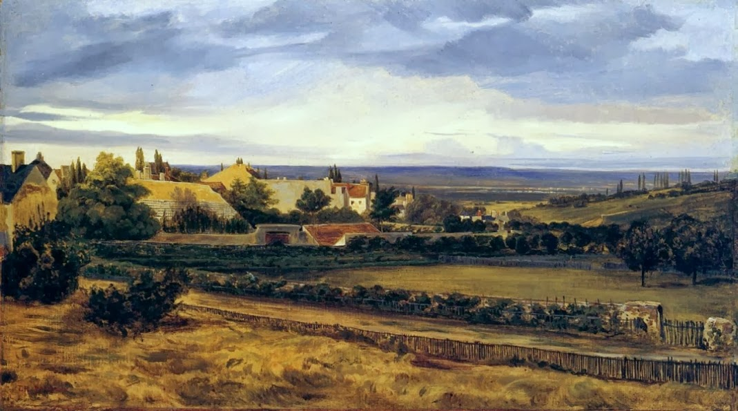 Théodore Rousseau - Village in a Valley
