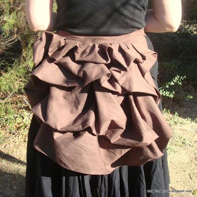 Tie-On Bustle Sewing Pattern - Now for Sale! - Steampunk Fashion