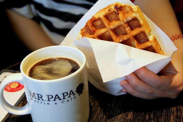 MR.PAPA WAFFLE & CAFE.咖啡.鬆餅.霜淇淋