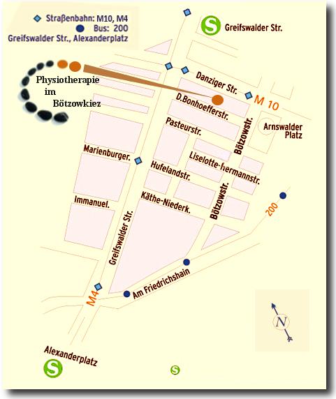 Karte Standort Praxis
