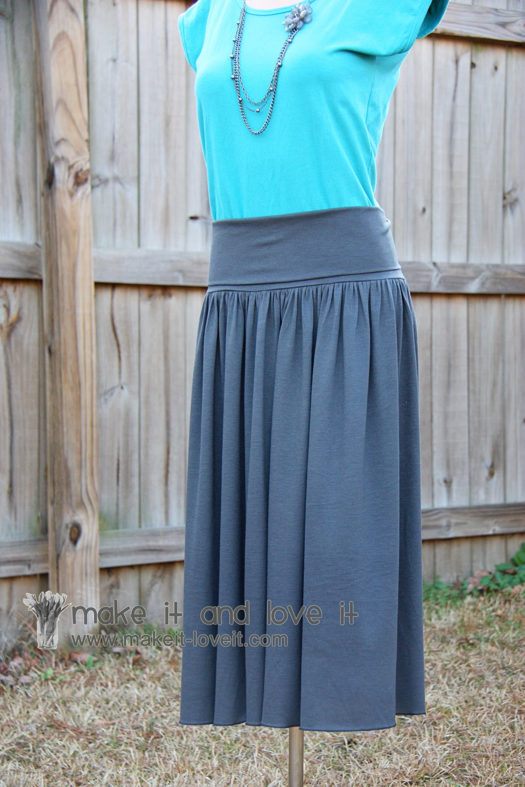 s skirt with style waist band make it and it