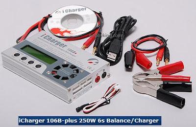 14 - Le chargeur électrique intelligent (plomb, lithium,NiMh...) + balance board Chargeur106