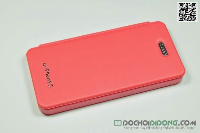 Bao da Iphone 5 - 5S Mercury vân kim loại