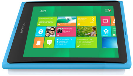 Nokia Windows 8 tablet