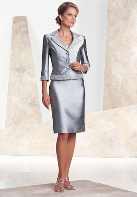 ... Bride Silwer Long Sleeve Color And Three Button Silk Sort Dress Models