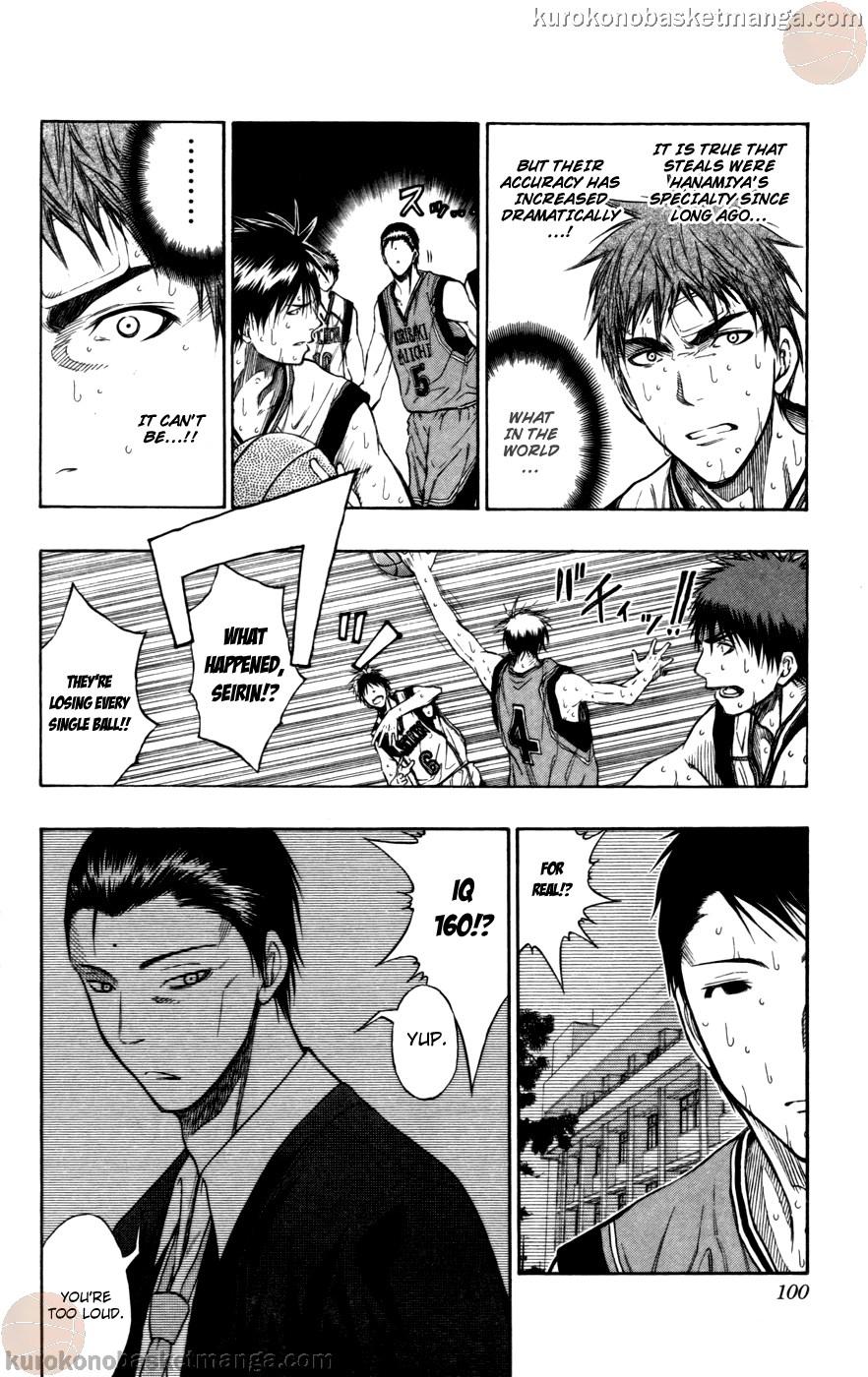 Kuroko no Basket Manga Chapter 104 - Image 14