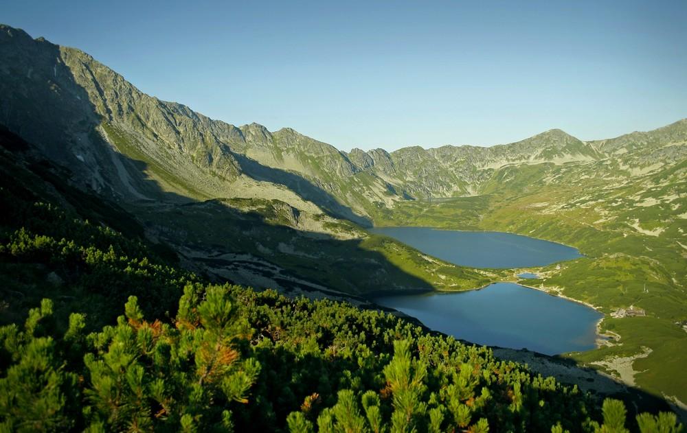 Dolina Pięciu Stawów ze Świstowej Kopy