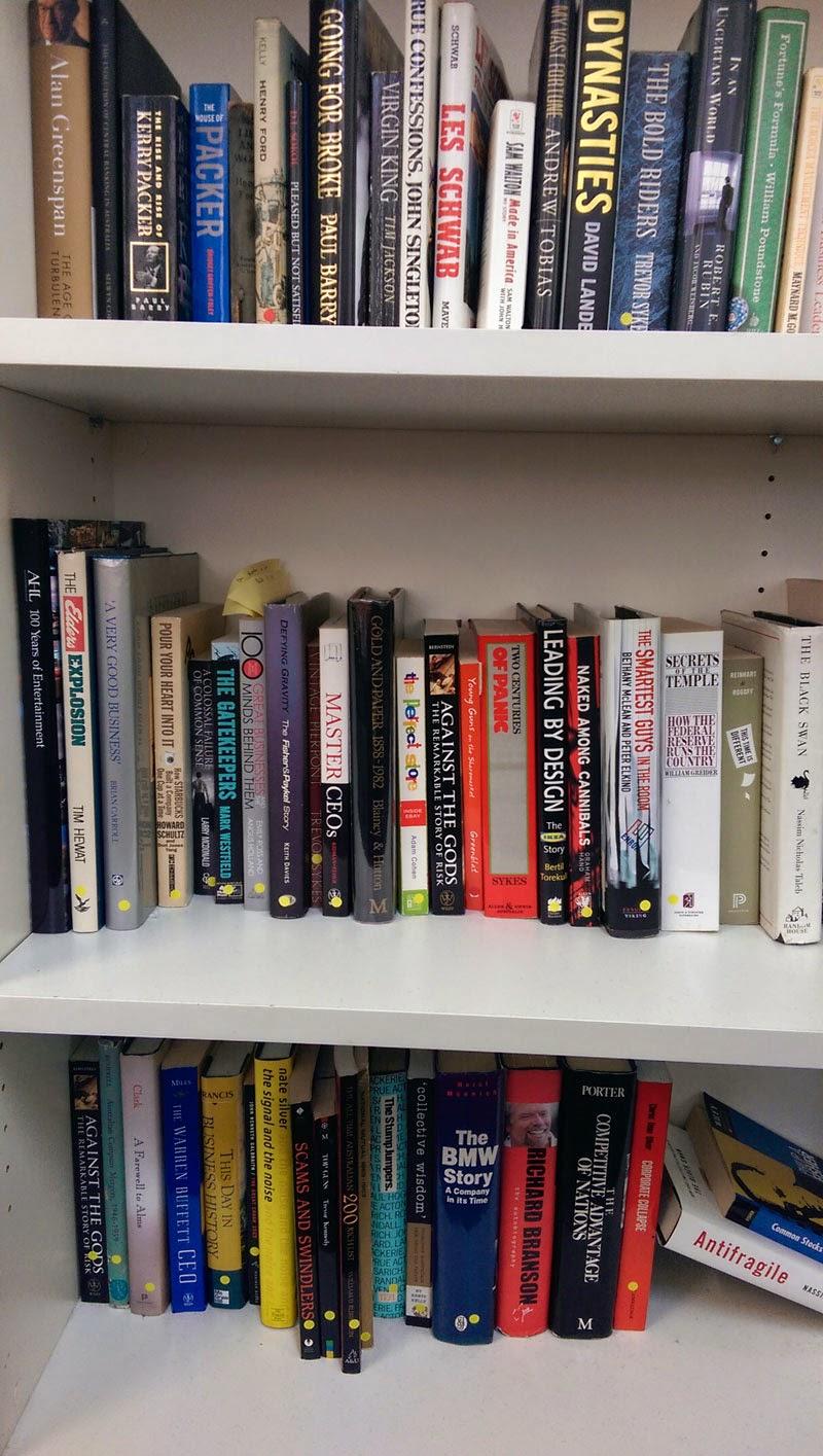 Bookshelf Day 2