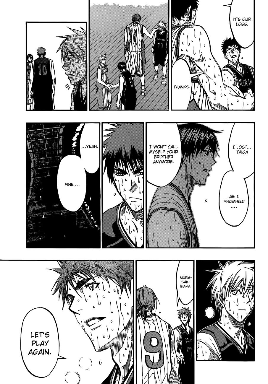 Kuroko no Basket Manga Chapter 169 - Image 07