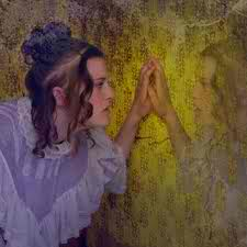 Barefoot And Crazy Trapped Behind The Yellow Wallpaper Of Society
