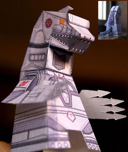 Kaiju - Mechagodzilla Paper Toy