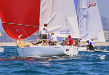 J/24s sailing one-design at Cal Race Week