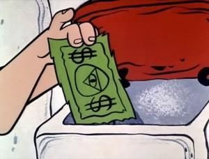 """El piedrólar, la moneda de """"The Flintstones"""" (""""Los Picapiedra"""")"""