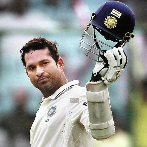 Tendulkar was in the Royal Box during the Championship alongside former England cricket captain Andrew Strauss.