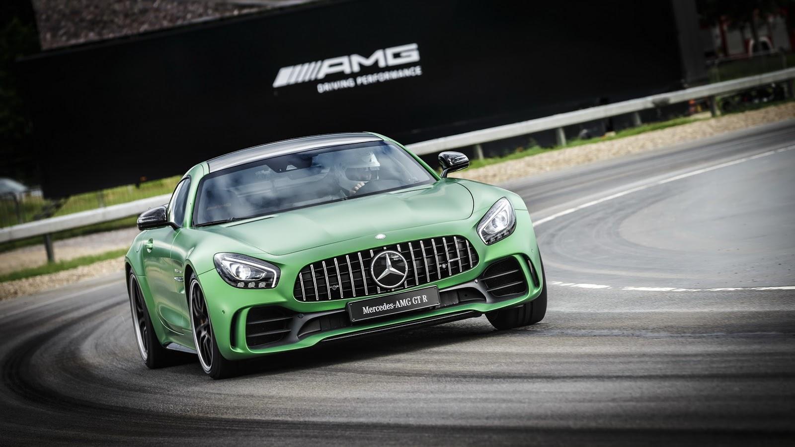 Mercedes AMG GT-R - Siêu xe đỉnh cao nhất của Mercedes