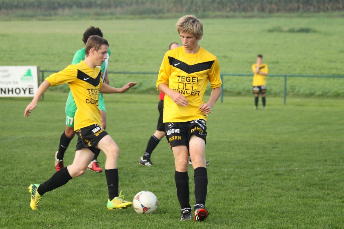 U21-Wezembeek: Voorsprong in slotfase weggegeven.