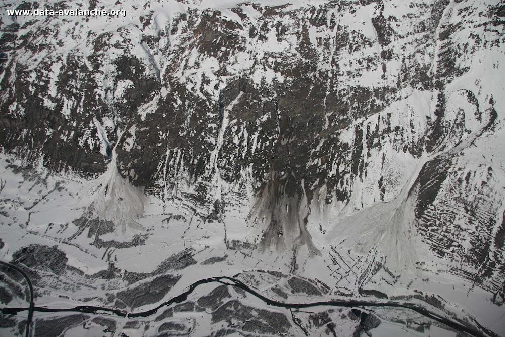 Avalanche Haute Maurienne, secteur Pointes du Châtelard, Ravernot. RD 902 - Photo 1