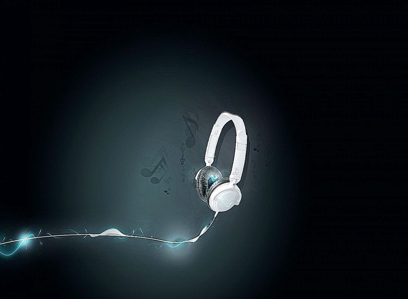 Music headphones wallpaper gadget and pc wallpaper for 3d search engine