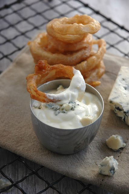 Blue Cheese Dip for my Stout Hearted Onion Rings by My easy cooking ...