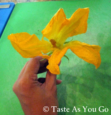 Zucchini Blossom at Los Tamarindos in Los Cabos, Mexico - Photo by Taste As You Go