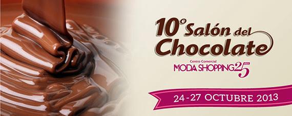 10º Salón del Chocolate en Moda Shopping, del 24 al 27 de octubre de 2013