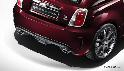Abarth 695 Tributo Maserati exhaust