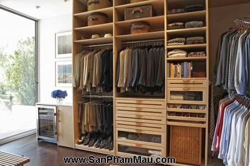 <strong><em>Thiết kế tủ quần áo</em></strong> - Phòng thay đồ-11