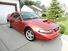 2002 FORD MUSTANG GT 4.9 RED 87,400 MILES ONE FAMILY OWNED CAR CLEAN CARFAX