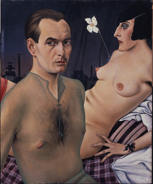 Christian Schad - Self Portrait 1927