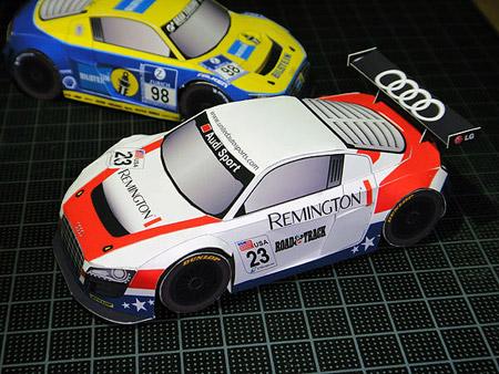 Audi R8 LMS Papercraft