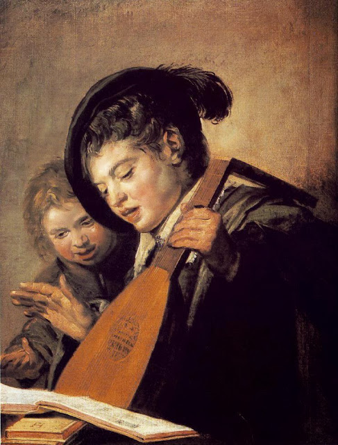 Frans Hals - Two Boys Singing