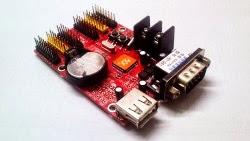 HD-Q3 LED control card, κάρτα γραφικών γιά επιγραφές LED