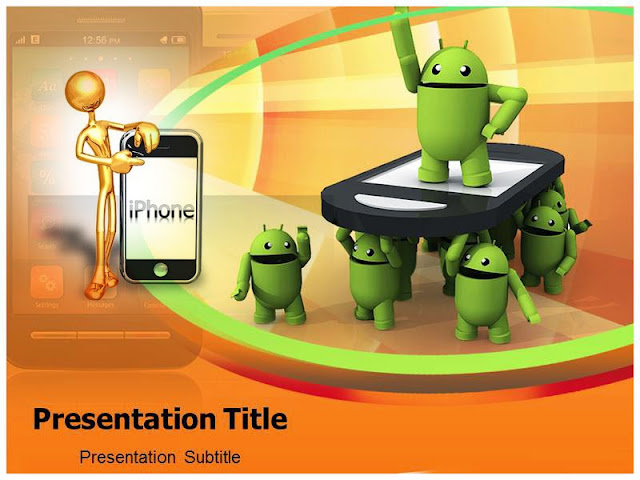 PowerPoint Templates Of iPhone