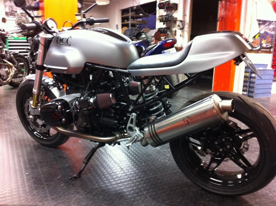 BMW Boxer / Ducati Frame Cafè Racer title=