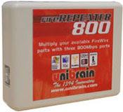 Unibrain FireRepeater 800 FireWire 800 IEEE 1394b Repeater Hub 3 Port