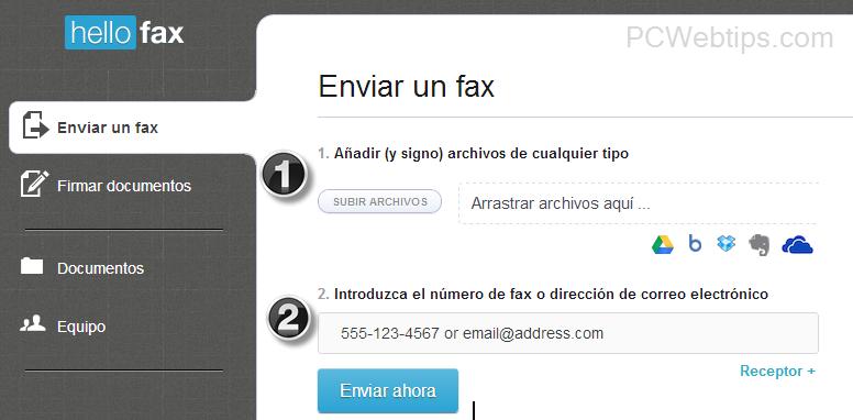 2 pasos para enviar un fax gratis por internet cualquier pais