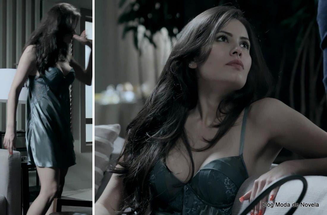 moda da novela Império - look da Carmen dia 16 de setembro